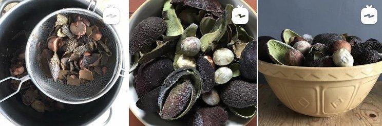 avocado dye
