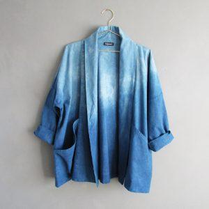 dip dyed jacket