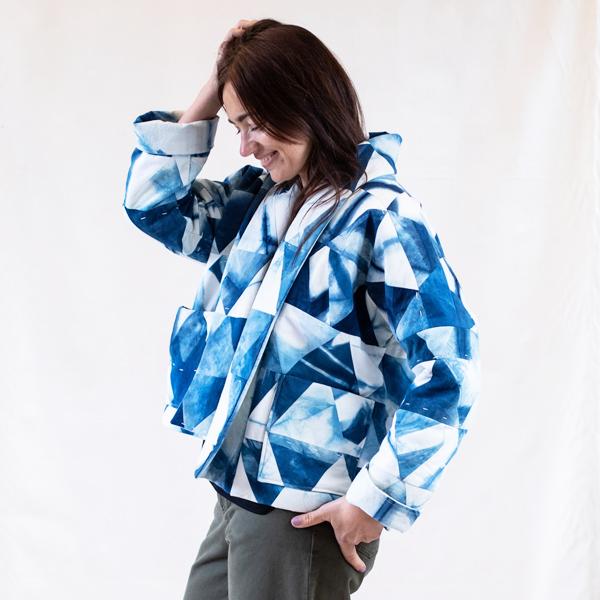 patchwork jacket